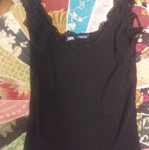Zara black Cami